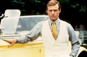 Robert Redford as Jay Gatsby